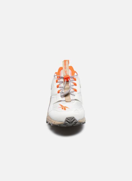 Baskets Reebok Dmxpert Blanc vue portées chaussures