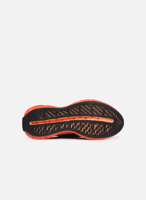 Sneaker Reebok Zig Kinetica W schwarz ansicht von oben