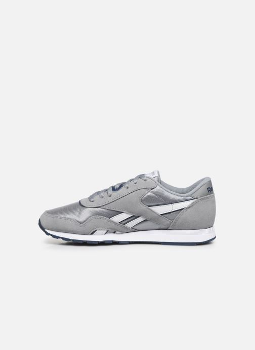 Sneakers Reebok CL NYLON Grå se forfra