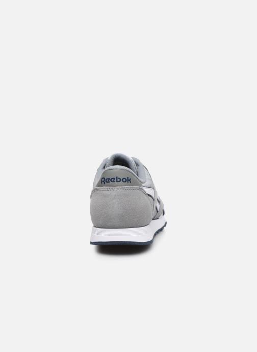 Sneakers Reebok CL NYLON Grigio immagine destra