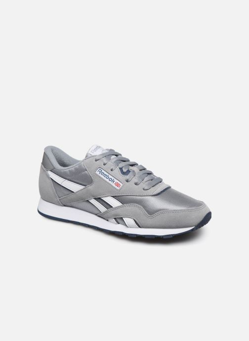 Sneakers Reebok CL NYLON Grå detaljeret billede af skoene