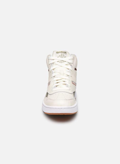 Baskets Reebok Bb 4600 Beige vue portées chaussures