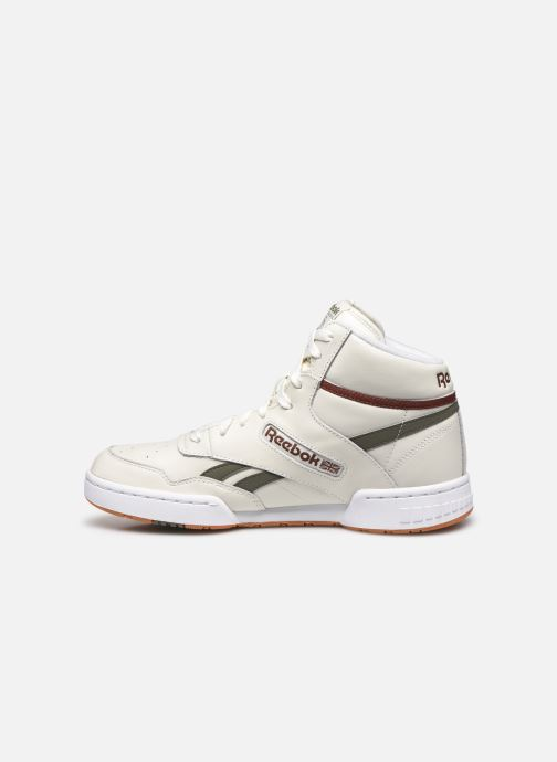 Baskets Reebok Bb 4600 Beige vue face