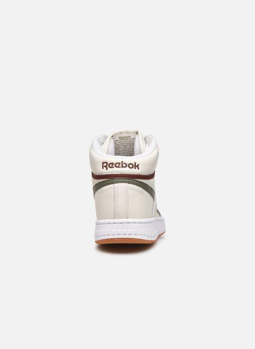 Baskets Reebok Bb 4600 Beige vue droite