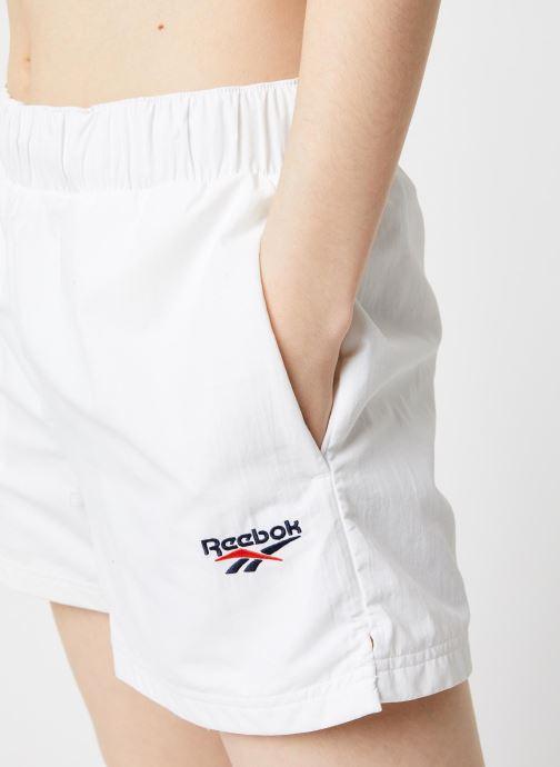 Vêtements Reebok Cl D Team Shorts Blanc vue face
