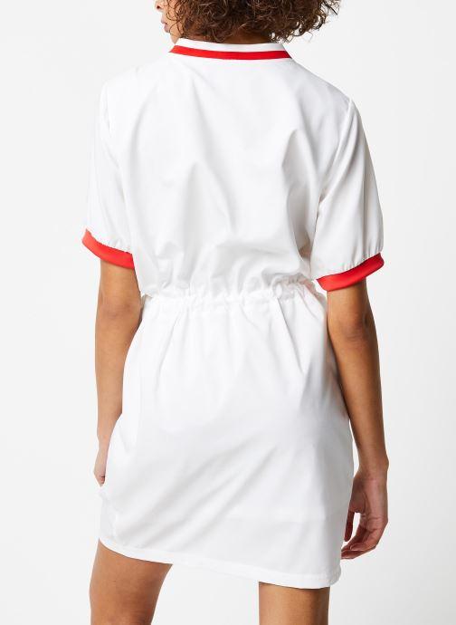 Vêtements Reebok Cl D Tennis Dress Blanc vue portées chaussures