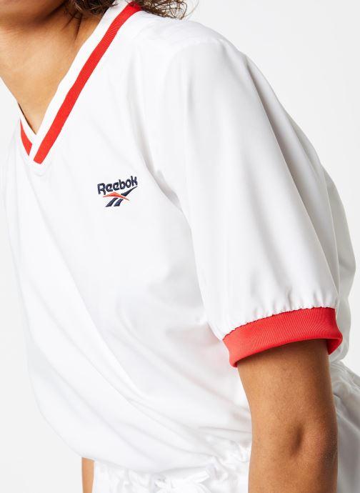 Vêtements Reebok Cl D Tennis Dress Blanc vue face