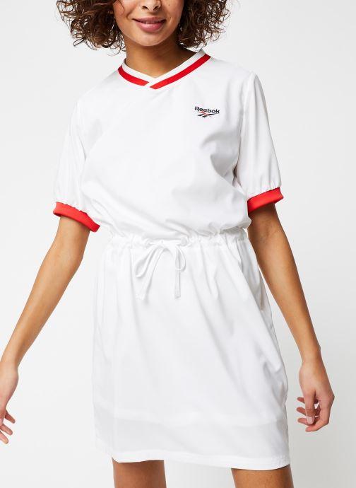 Vêtements Reebok Cl D Tennis Dress Blanc vue droite