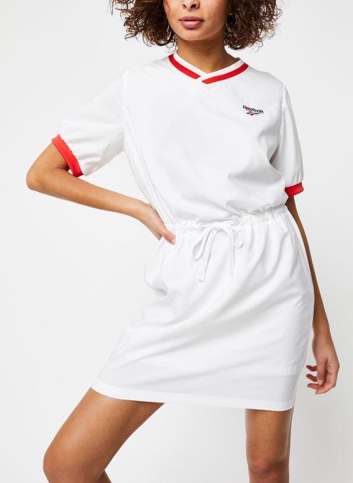 Vêtements Reebok Cl D Tennis Dress Blanc vue détail/paire