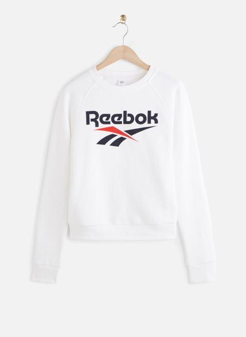 Vêtements Reebok Cl F Vector Crew Blanc vue détail/paire