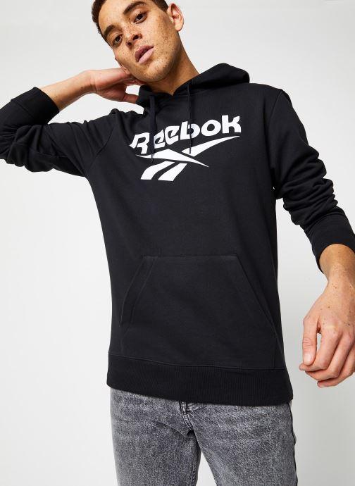 Kleding Reebok Cl F Vector Hoodie Zwart detail