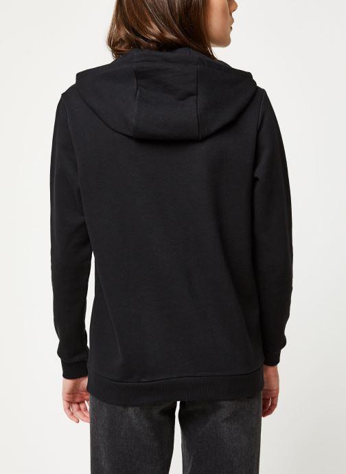 Kleding Reebok Cl F Vector Hoodie Zwart model
