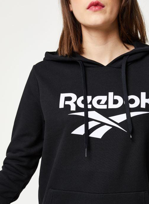 Kleding Reebok Cl F Vector Hoodie Zwart voorkant