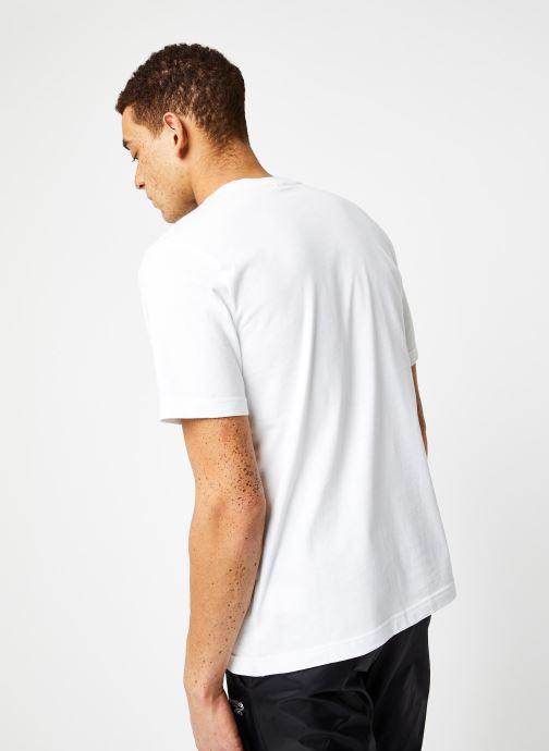 Vêtements Reebok Cl F Vector Tee Blanc vue portées chaussures