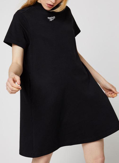 Kleding Reebok Cl F Vector Dress Zwart rechts