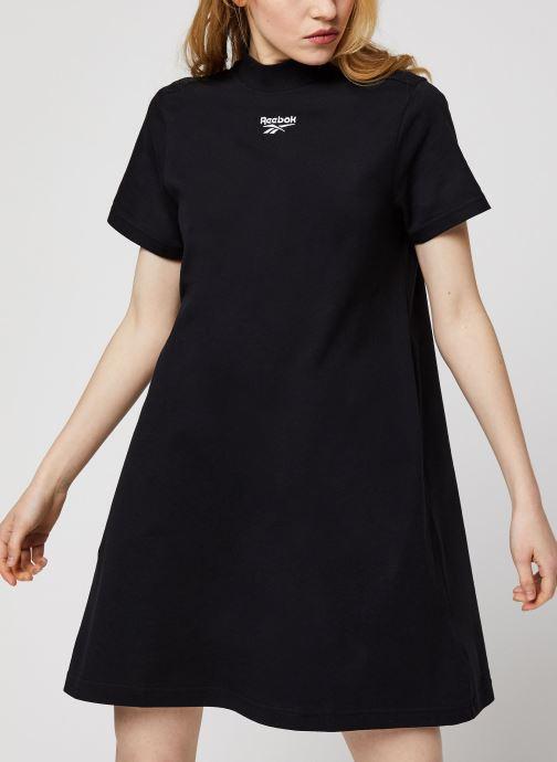 Kleding Reebok Cl F Vector Dress Zwart detail