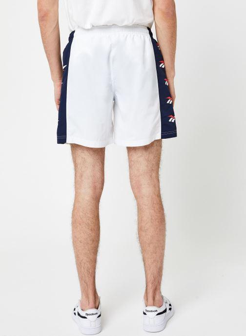 Kleding Reebok Cl D Vector Repeat Shorts Wit model