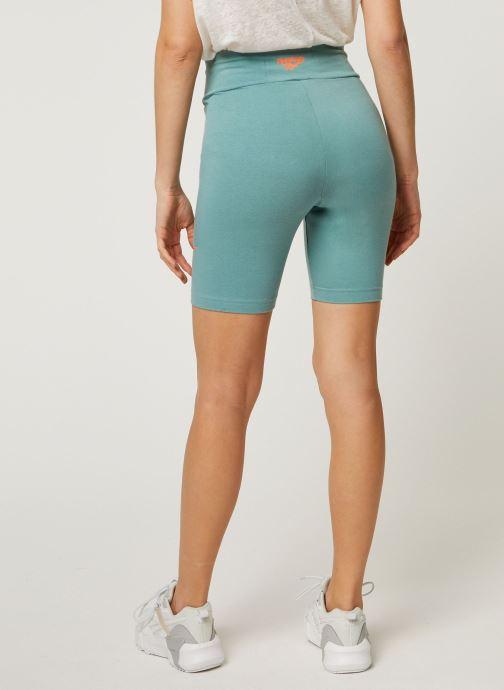 Vêtements Reebok Cl V Logo Bike Shorts Vert vue portées chaussures