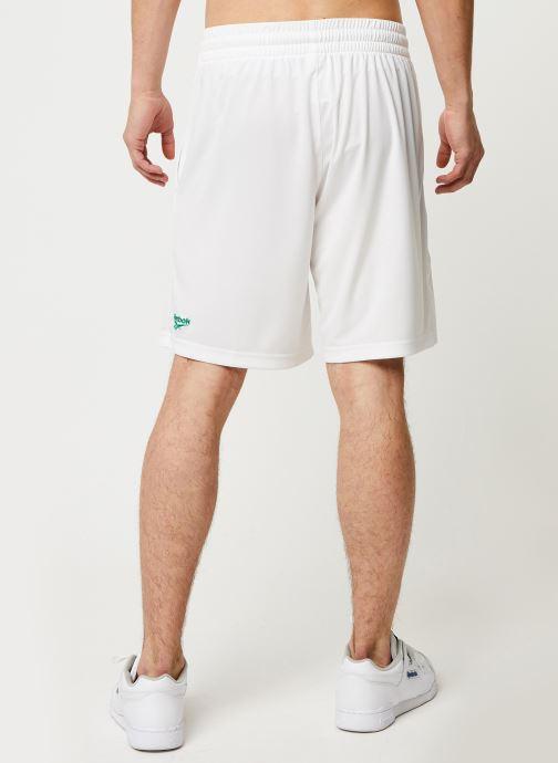 Vêtements Reebok Cl D Soccer Shorts Blanc vue portées chaussures
