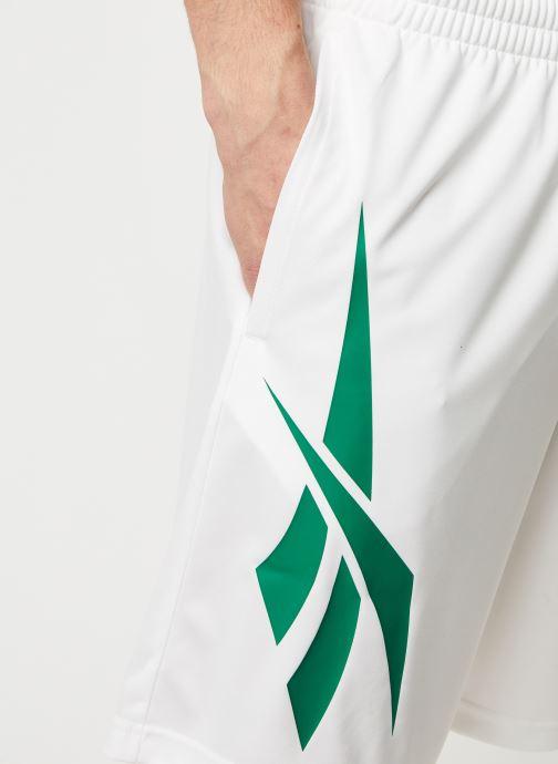 Kleding Reebok Cl D Soccer Shorts Wit voorkant