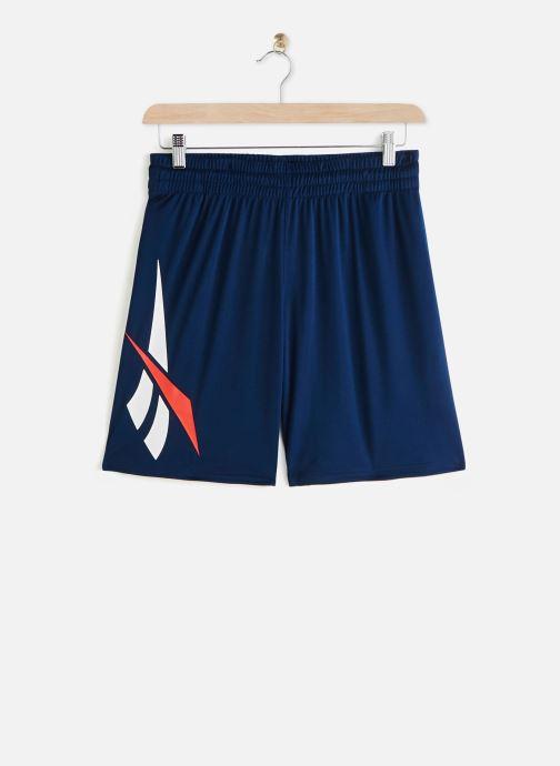 Vêtements Reebok Cl D Soccer Shorts Bleu vue détail/paire
