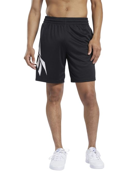 Vêtements Reebok Cl D Soccer Shorts Noir vue face