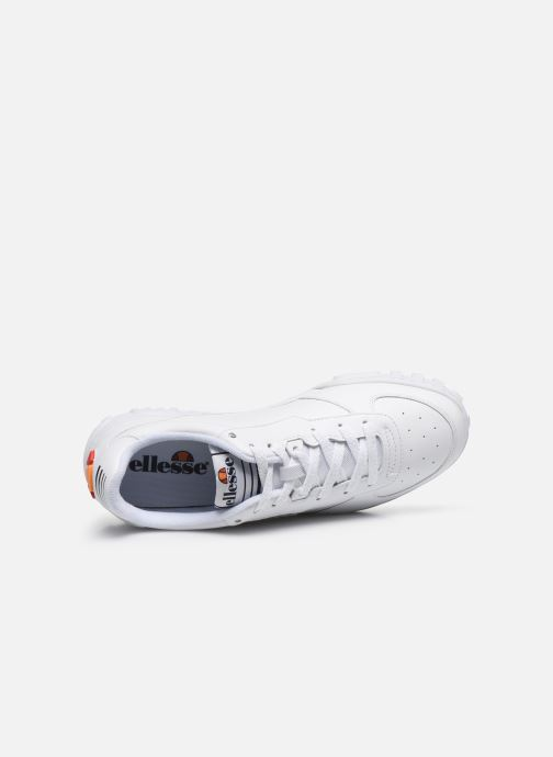 Sneakers Ellesse Tanker Lo Lthr M Bianco immagine sinistra