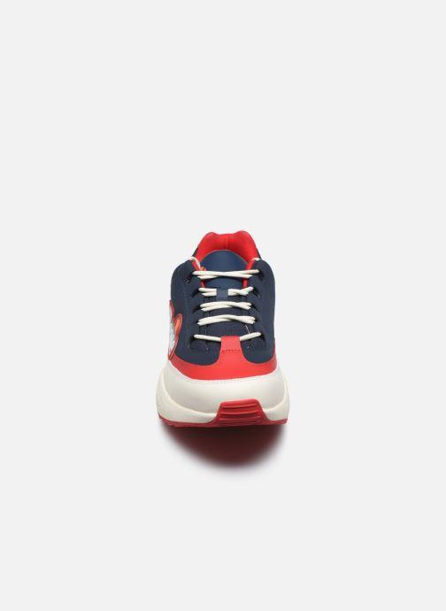 Baskets Ellesse Sparta Nubk Bleu vue portées chaussures