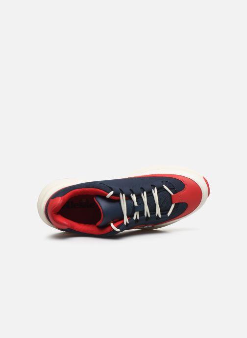 Baskets Ellesse Sparta Nubk Bleu vue gauche