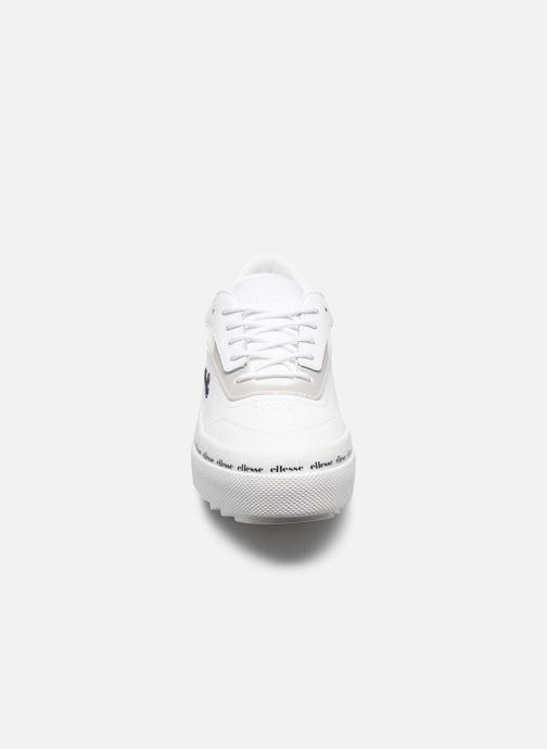 Baskets Ellesse Alzina Lthr W Blanc vue portées chaussures