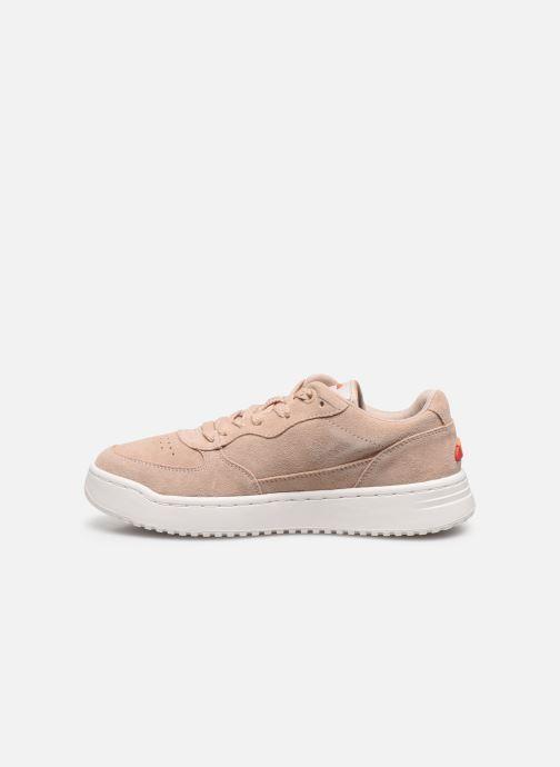Sneakers Ellesse Varese Sued W Beige voorkant