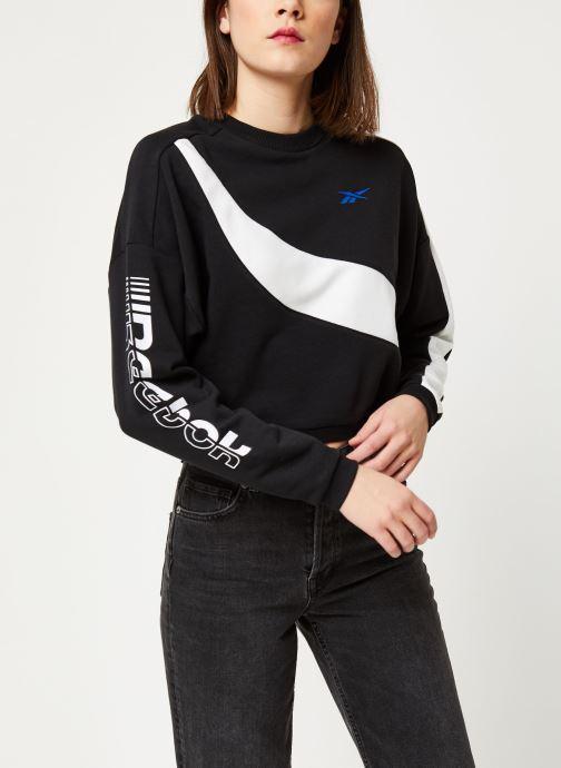 Vêtements Reebok Wor Myt Colorblocked Crew Noir vue droite