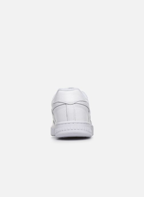 Deportivas Reebok Bb4000 Blanco vista lateral derecha