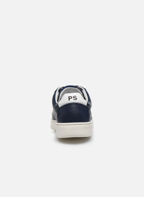 Baskets PS Paul Smith Saturn Bleu vue droite