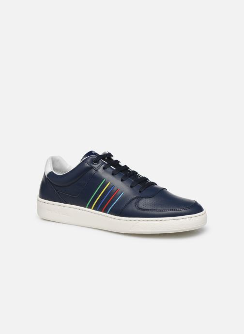 Baskets PS Paul Smith Saturn Bleu vue détail/paire