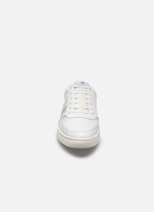 Baskets PS Paul Smith Saturn Blanc vue portées chaussures