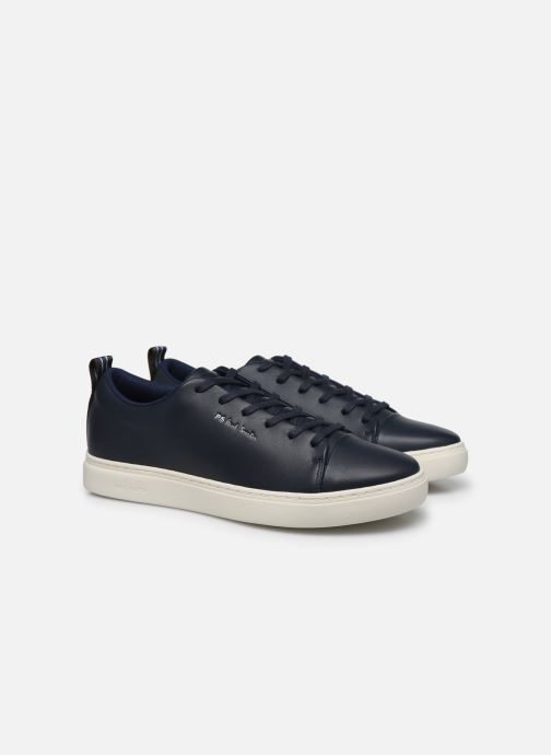Baskets PS Paul Smith Lee Bleu vue 3/4