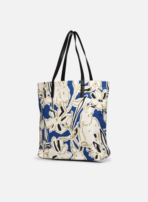 Handtaschen PS Paul Smith Tote Bag Lucky blau ansicht von rechts
