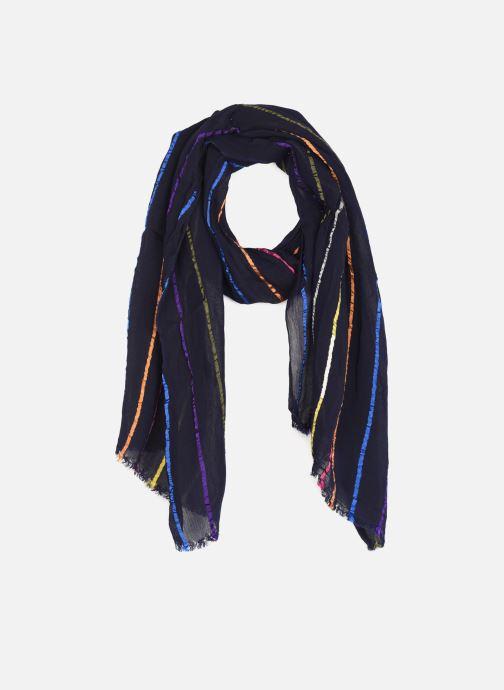 Schal PS Paul Smith Bright Stripe blau detaillierte ansicht/modell