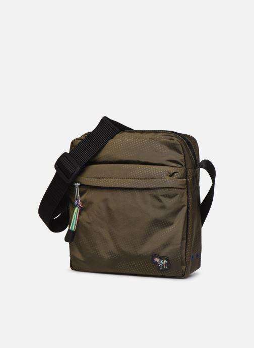 Herrentaschen PS Paul Smith Bag Flight Zeb Camo grün schuhe getragen