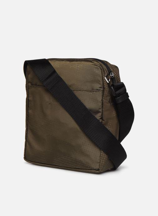 Herrentaschen PS Paul Smith Bag Flight Zeb Camo grün ansicht von rechts