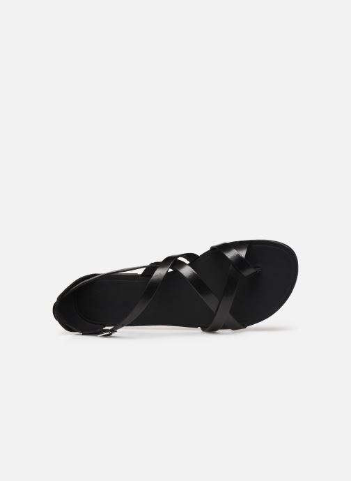Sandalias Vagabond Shoemakers TIA 4931-083 Negro vista lateral izquierda