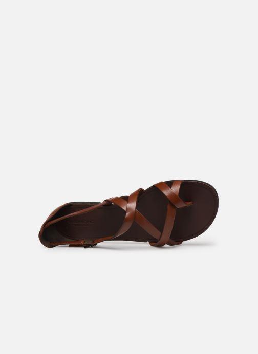 Sandalias Vagabond Shoemakers TIA 4931-083 Marrón vista lateral izquierda