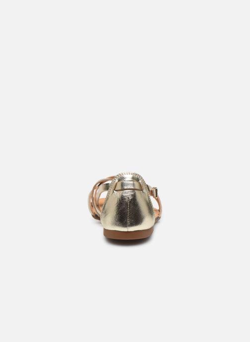 Sandalen Vagabond Shoemakers TIA 4931-083 gold/bronze ansicht von rechts