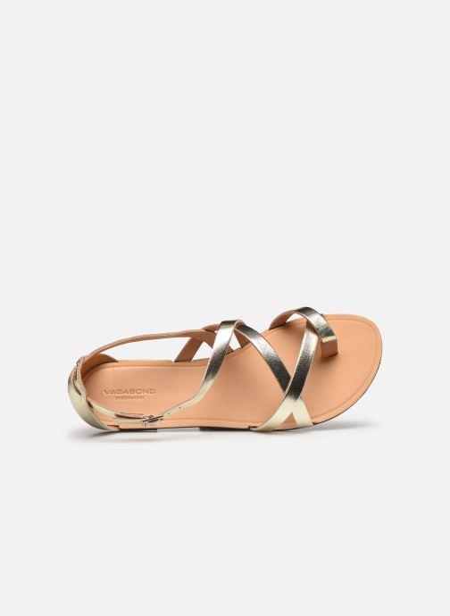 Sandalen Vagabond Shoemakers TIA 4931-083 gold/bronze ansicht von links
