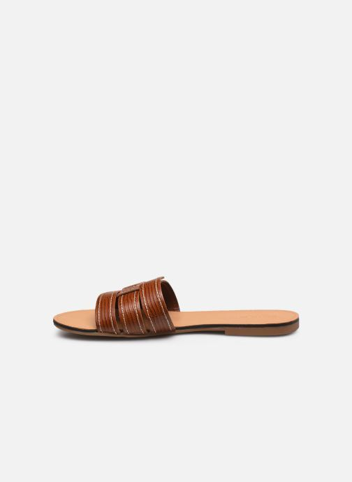 Zuecos Vagabond Shoemakers TIA 4931-408 Marrón vista de frente