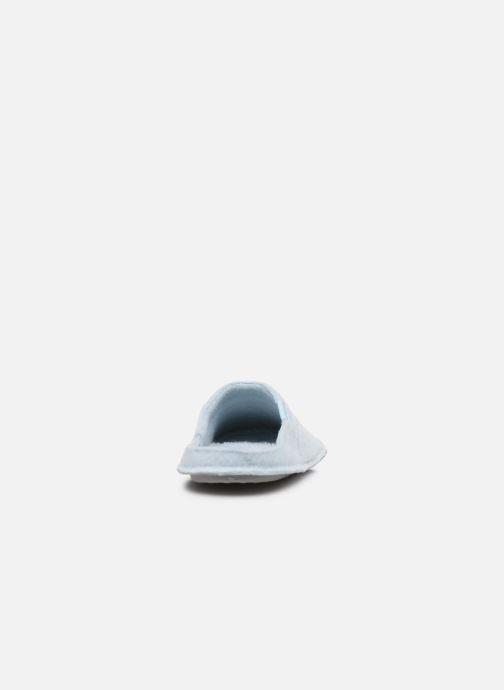Chaussons Crocs ClassicSlipper Bleu vue droite