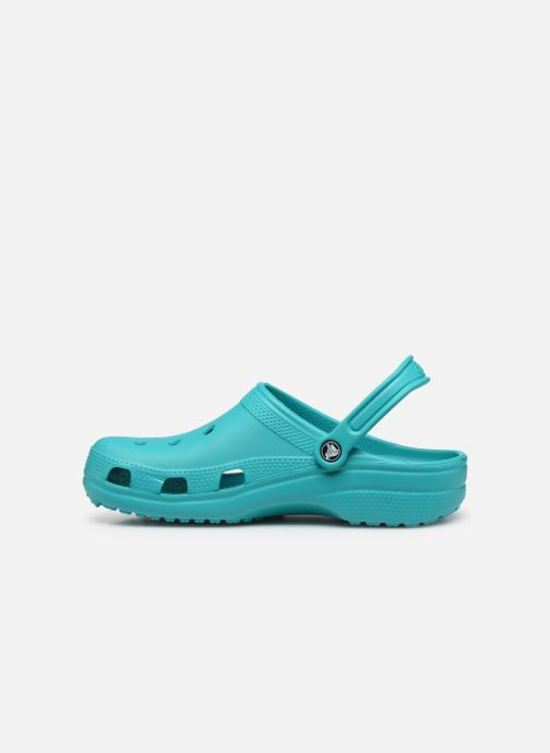 Sandals Crocs Classic F M Green front view