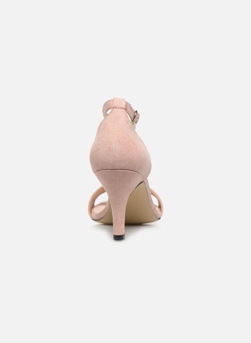 Sandales et nu-pieds Bianco BIAADORE Basic Sandal Rose vue droite