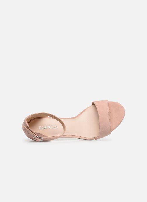 Sandales et nu-pieds Bianco BIAADORE Basic Sandal Rose vue gauche